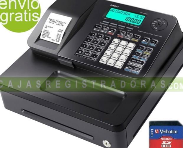 Casio SE-S100. Caja Registradora Casio SE-S100 + Tarjeta SD 8GB