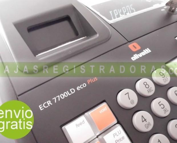 7700 LD. Caja Registradora Olivetti ECR 7700 LD ECO Plus
