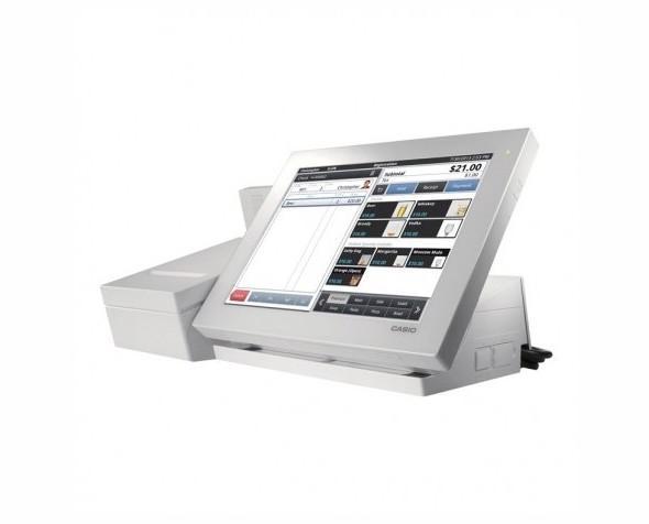 TPV Casio v r100. Blanco con impresora