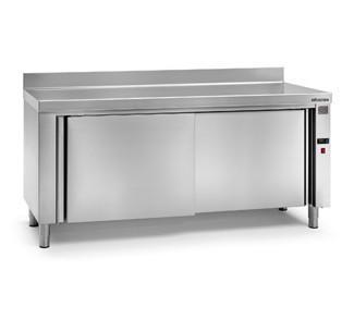 Mobiliario de acero inoxidable. Proveedores de mesas calientes