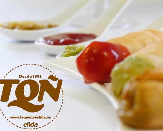3 TQÑ´s  SALSA. Los Tequeños con salsa, más ricos son...