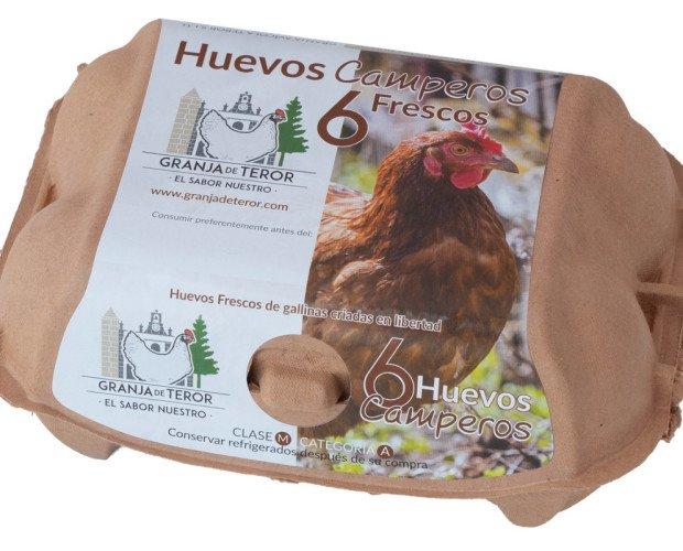 Huevos Camperos. Huevos de gallinas criadas en Libertad
