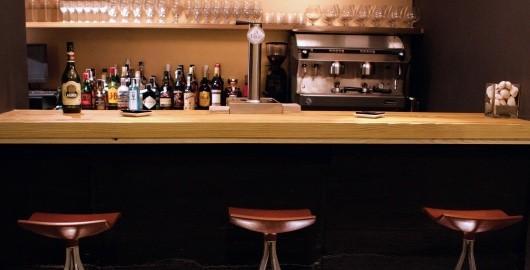 Barra de bar Montia. Decoración para bares