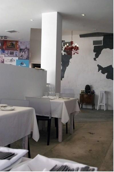 Decoración del restaurante La Sopa. Interiorismo de restaurante La Sopa Boba
