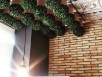 Detalle de techo en el restaurante BDP
