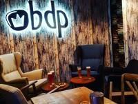 Zona de reservado del restaurante BDP