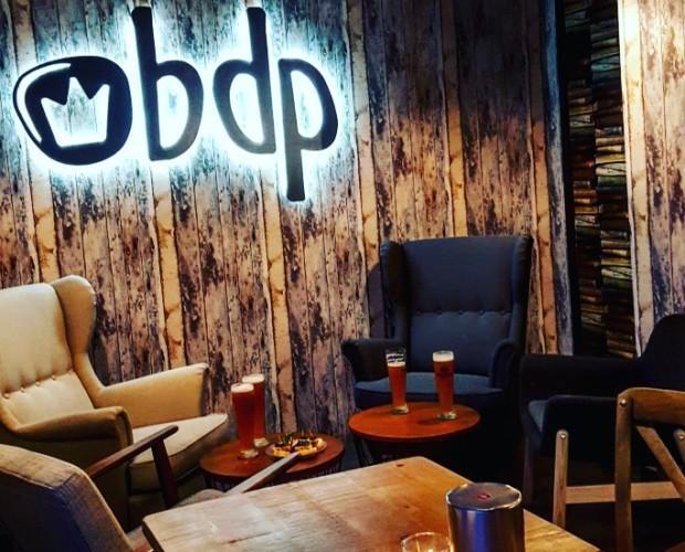 Zona de reservado del restaurante BDP. Confort y privacidad