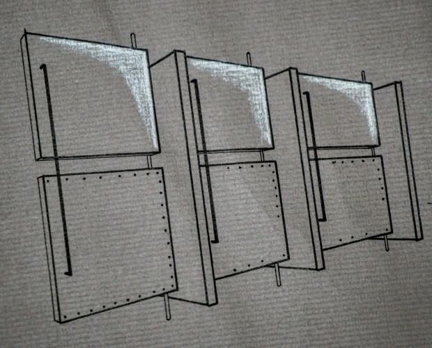 Diseño aseos. Bocetos de diseño