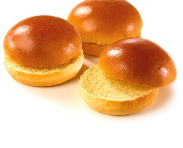 Hamburguesa brioch. Pan de hamburguesa premium