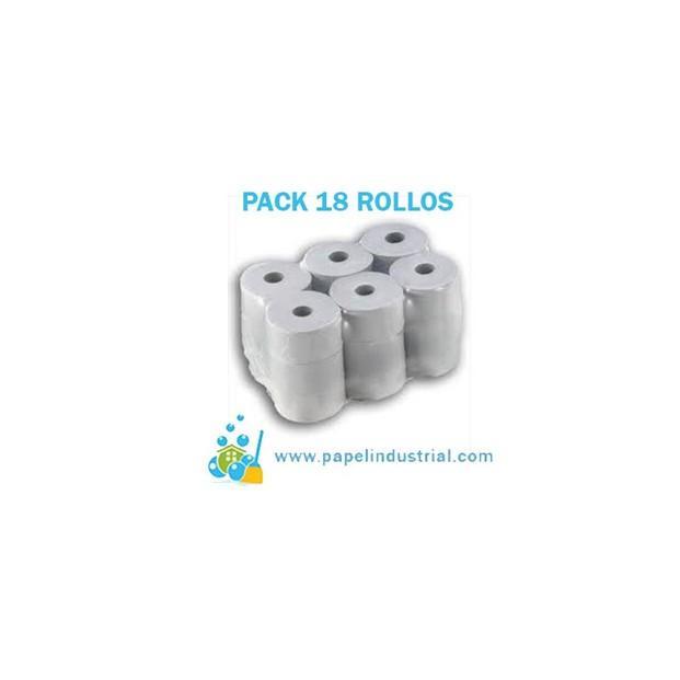 Rollos de Papel.Papel higiénico industrial de 350 grs y 400 grs.