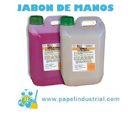 Gel - Jabón de manos. Jabón de manos ph neutro dermoprotector.