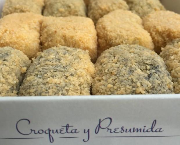 Caja croquetas. 14 variedades de croquetas frescas