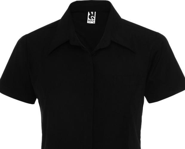 Camisa Roma. 97 % algodón/ 3 % spandex, popelín, 130 g/m2