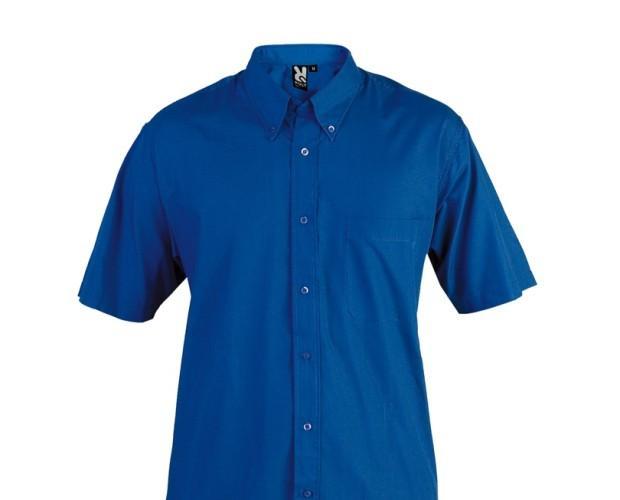 Camisa Aifos. 65 % poliéster / 35 % algodón popelín 130g/m2