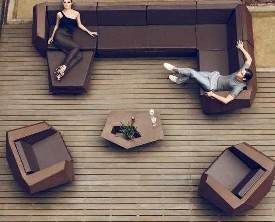 Mobiliario Iluminado para Bares. Sillones Iluminados para Bares. Colección FAZ de Vondom
