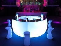 Barra de Bar con luz