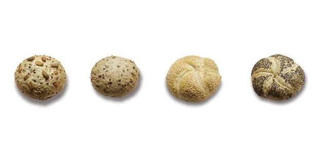 Variedad de panecillos. Variedad de panecillos precocidos