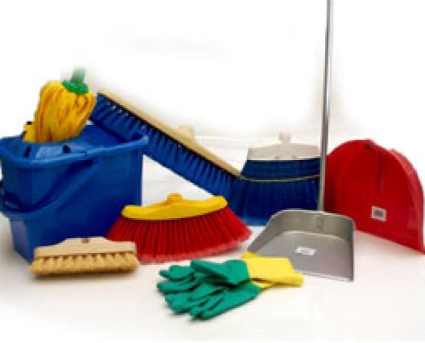 Artículos de limpieza. Amplia gama de útiles de limpieza.