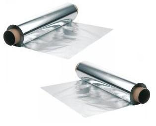 Papel aluminio. De 30cm, 6 rollos por caja