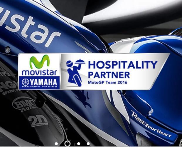 Hospitality Moto GP. Proveedor oficial - hosteleria YAMAHA MOTOGP