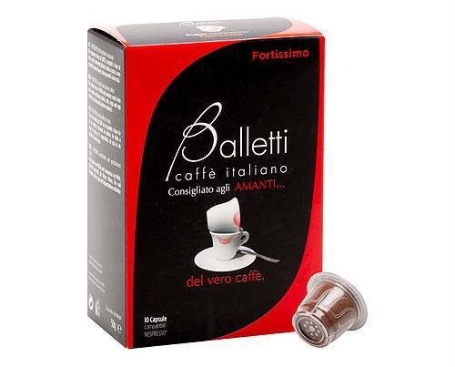Fortissimo-Nespresso. Café suave con sabor intenso y prolongado. Compatible con Nespresso