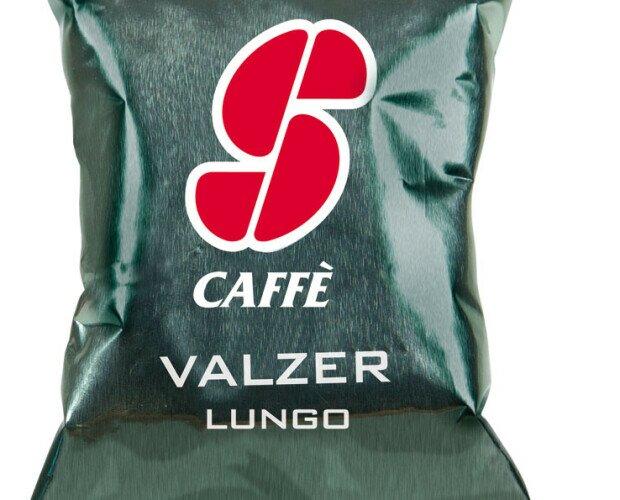 Esecafe Valzer. Mezcla de cafés de calidad Arábica y Robusta,Buena persistencia, regusto suave.