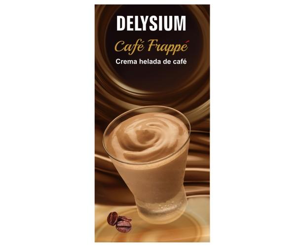 Cafe Frappe. Deliciosa crema helada de Café