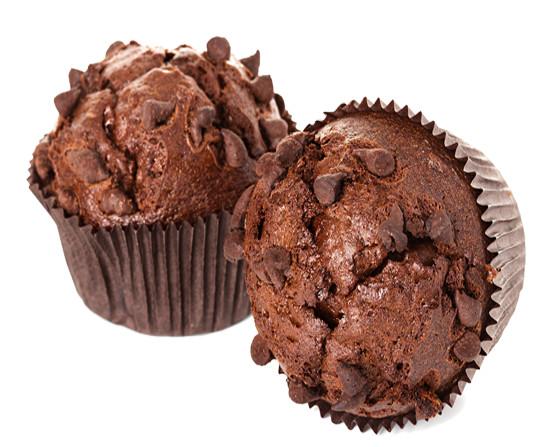 Muffins. Muffins de chocolate