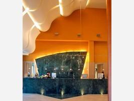 Diseño recepción hotel
