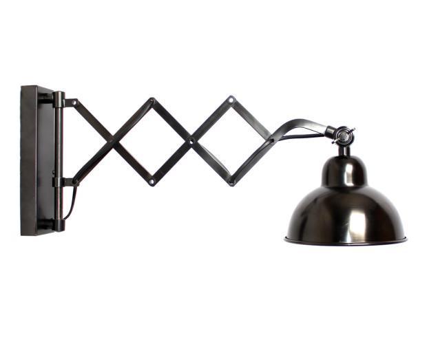 Lámpara Amelner. Estilo industrial fabricado en acero