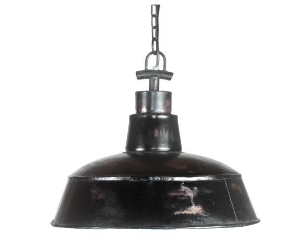 City. Lámpara estilo industrial fabricada en metal