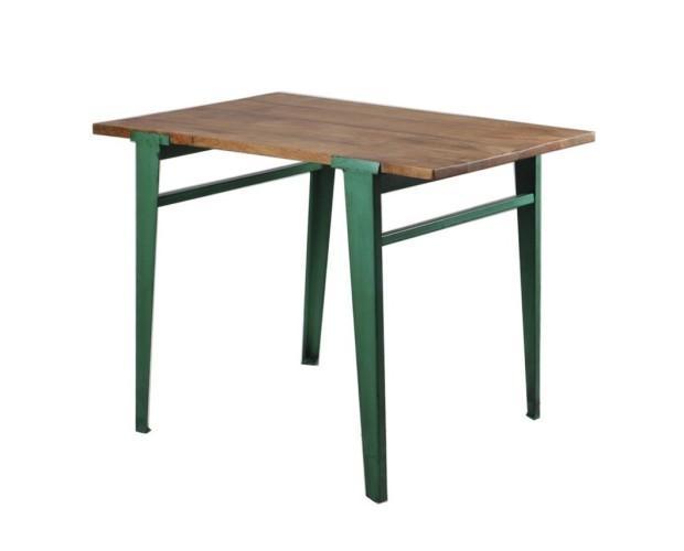 Mesa industrial. Mesa industrial color verde Bior