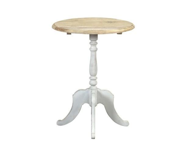 Mesita vintage Lulu. Es una mesa única, ideal para vestir un rincón de un comedor con estilo vintage o shabby chic.