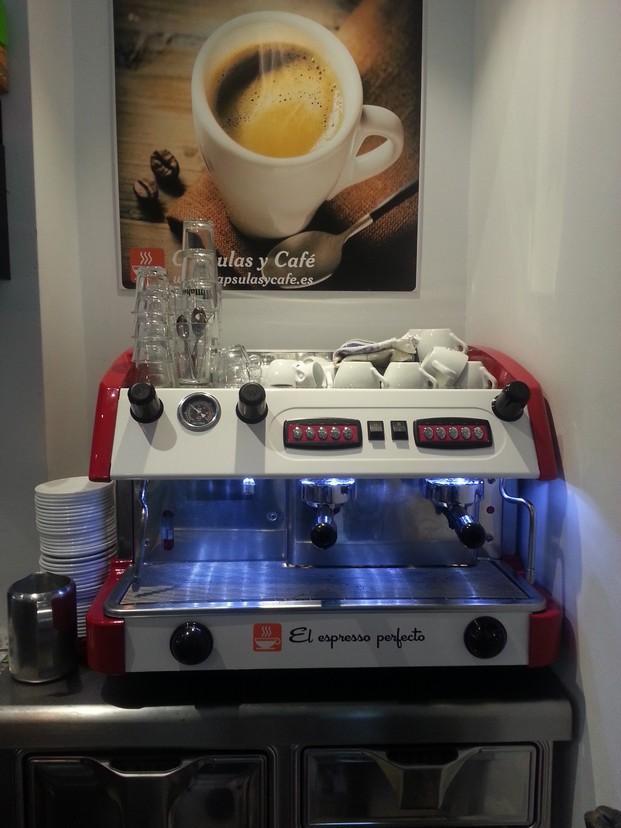 Máquina de café. Cafetera