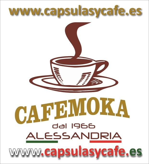 Logo Café Moka. El mejor café desde 1966