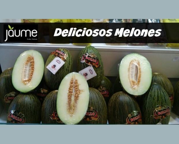 Melones.Deliciosos melones