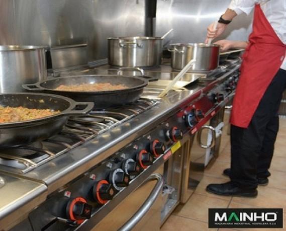 Cocinas industriales. Equipación para cocinas industriales