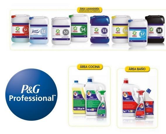 P&G Profesional. Variedad de productos