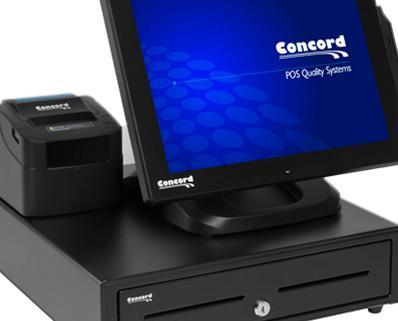 TPV completo. TPV Concord Tactil+Impresora Térmica y cajón portamonedas.