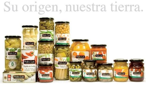 Productos Pedro Luis. Conservas