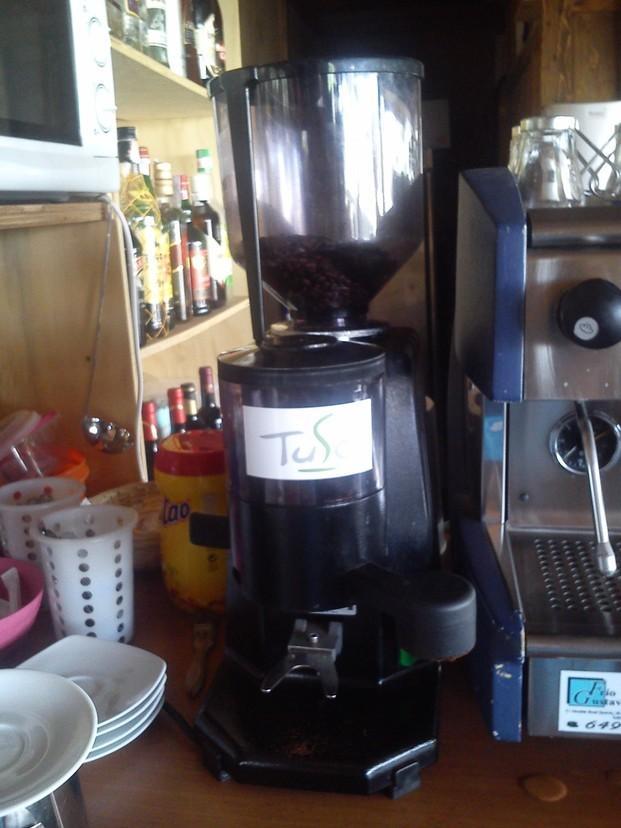 Café Molido.Molino de café en Mijas.
