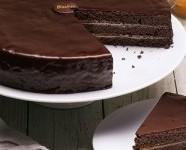 Tarta de chocolate. Sabor único