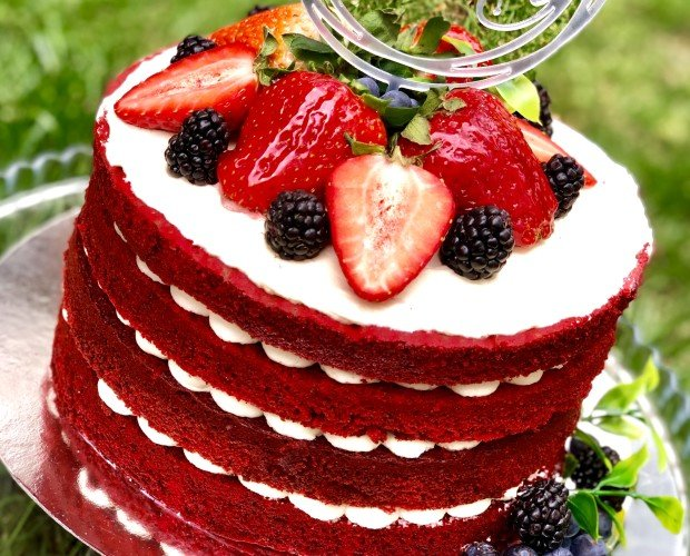 Red Velvet. Realizamos tartas