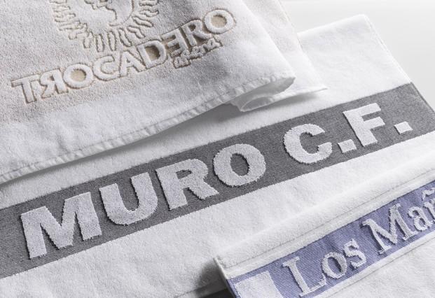 Textil personalizado. Podemos personalizar con las tecnicas del Jacquard