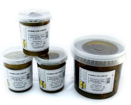 Lomo Curado.Lomo adobado y frito en aceite de oliva virgen extra