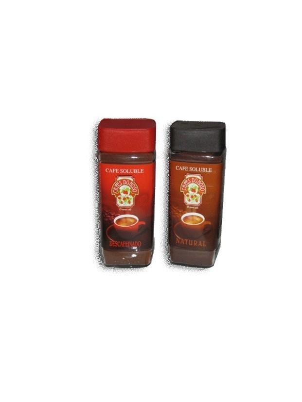 Café soluble. Café soluble de primera calidad
