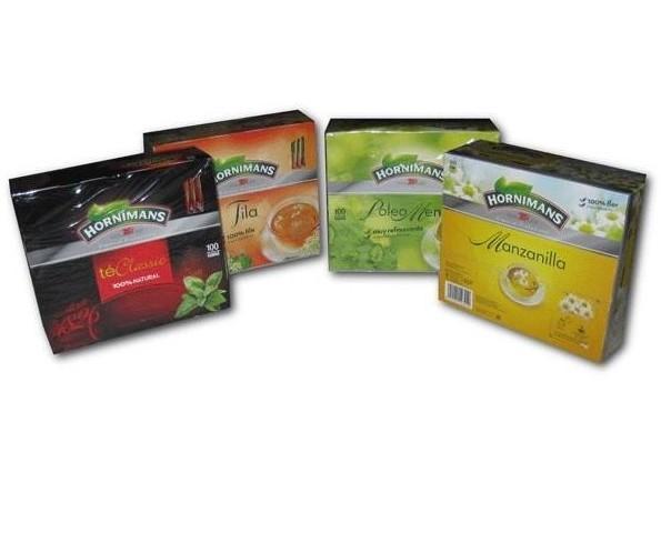 Variedad de tés. Varios sabores de exquisitos tés