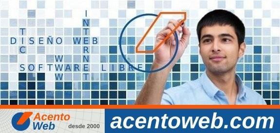 Acento Web. Diseño web Huelva