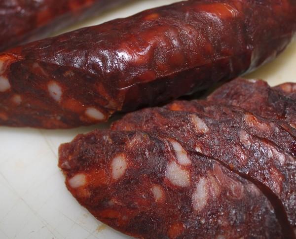 Chorizo Curado.Elaborados de forma artesanal