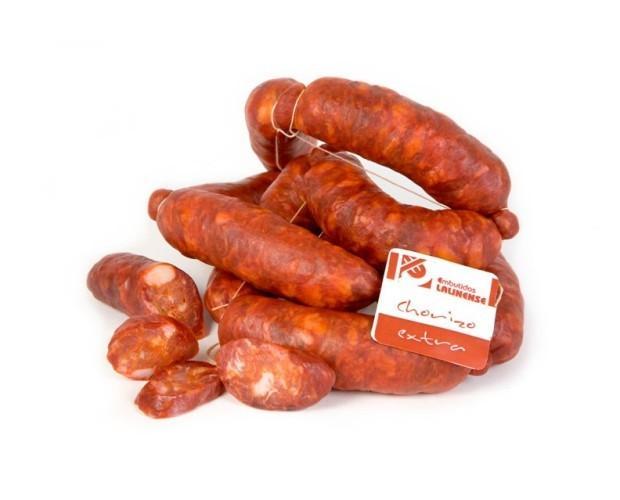 Embutidos Ibéricos. Chorizo Ibérico. Chorizo extra lalinense